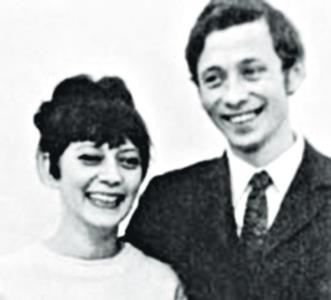 Олег Даль и Лиза Апраксина