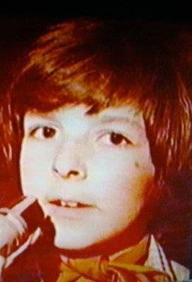 Томас Андерс в детстве