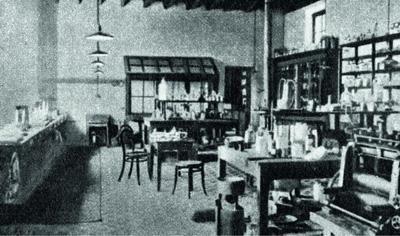 Лаборатория Нобеля на его вилле в Сан-Ремо (Италия), здесь появилось его знаменитое завещание