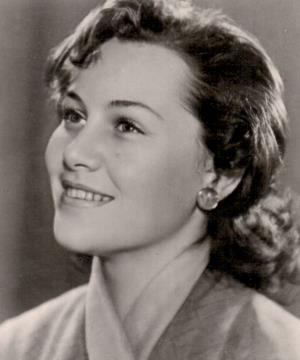 Татьяна Конюхова в молодости 1956 г.