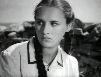 Нонна Мордюкова в молодости