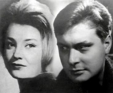Татьяна Доронина и Олег Басилашвили в молодости. Первое замужество актрисы.