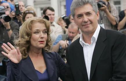 Ирина Алферова с третьим мужем Сергеем Мартыновым