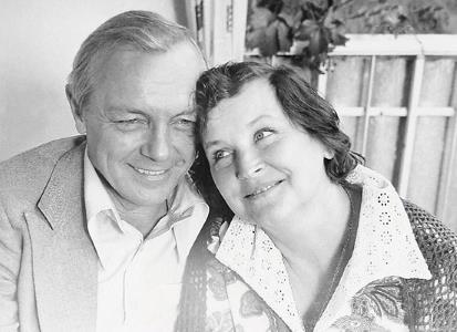 Кирилл Лавров и Валентина Николаева