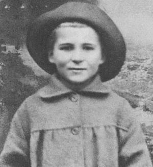 Кирилл Симонов в детстве