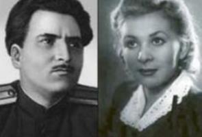 Валентина Серова и Константин Симонов...