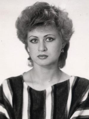 Вика Цыганова (Жукова) в молодости