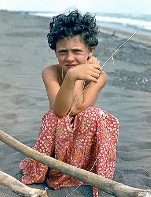 Ксения Раппопорт в детстве