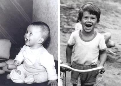 Кирилл Плетнёв в детстве