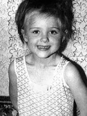 Лена Яковлева в детстве