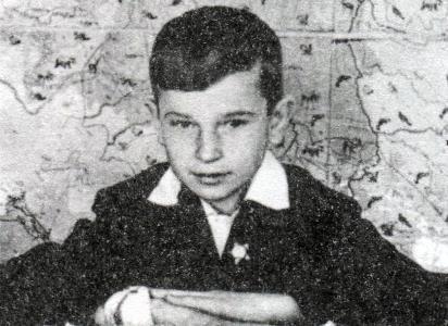 Игорь Тальков в детстве