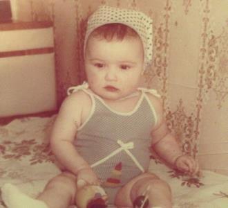 Аня Нетребко в детстве
