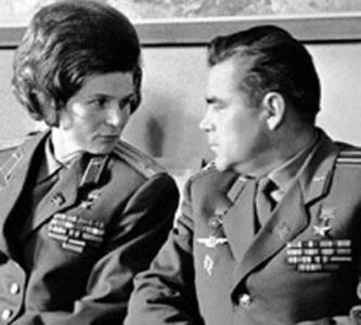 Валентина Терешкова и Николаев
