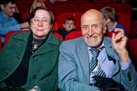 Николай Дроздов с супругой Татьяной Петровной