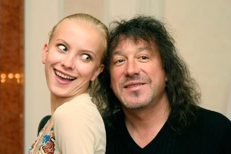Владимир Кузьмин с женой Екатериной.