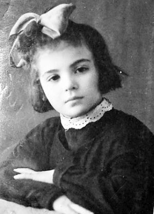 Марина Цветаева в детстве