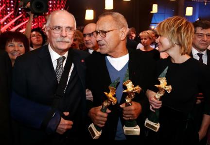 """В этом году триумфатором стал Андрей Кончаловский: его фильм """"Рай""""..."""