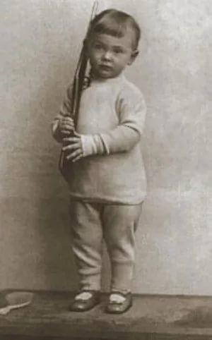 Серёжа Михалков в детстве