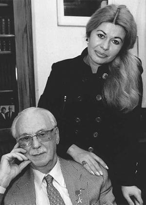 Сергей Михалков с Юлией Субботиной