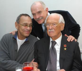 Сергей Михалков гордился своими сыновьями, так же как и они своим отцом!