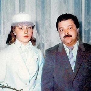 Роза Сябитова с первым мужем Михаилом