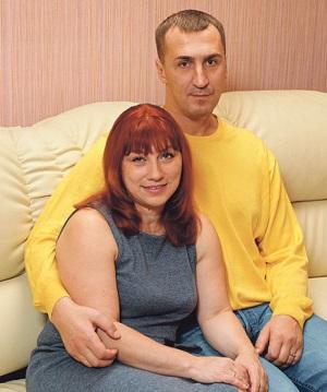 Роза Сябитова со вторым мужем Юрием Андреевым