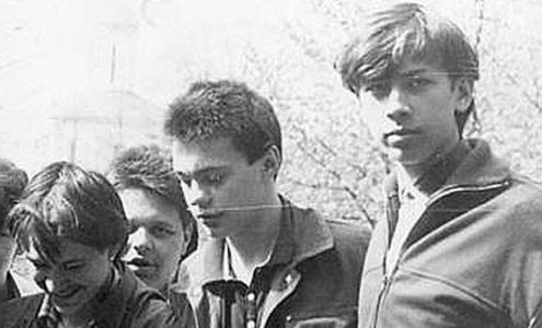 Андрей Мерзликин в молодости