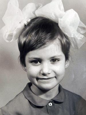 Аня Ковальчук в детстве