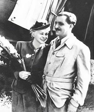 Валентина Серова и Константин Симонов