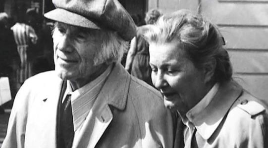 Игорь Ильинский и Татьяна Битрих