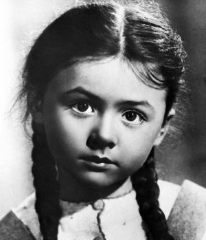 Наташа Селезнева в детстве