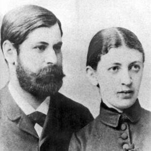 Зигмунд Фрейд и его жена Марта