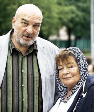 Алексей Петренко со второй женой Галиной Кожуховой