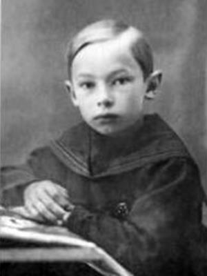 Саша Зацепин в детстве