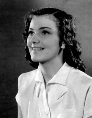 Юлия Борисова в юности