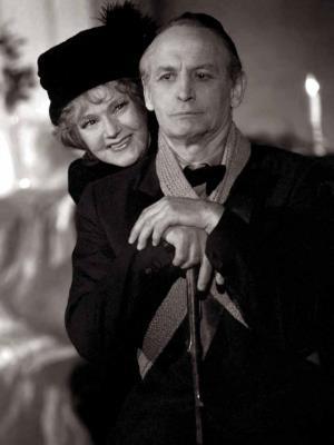 Юлия Борисова с Василием Лановым