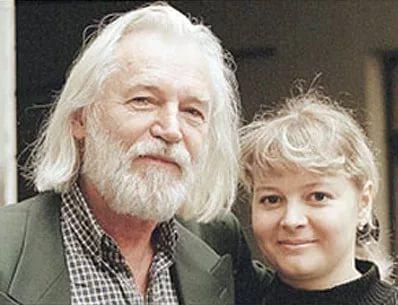 Станислав Любшин со второй женой Ириной Корнеевой