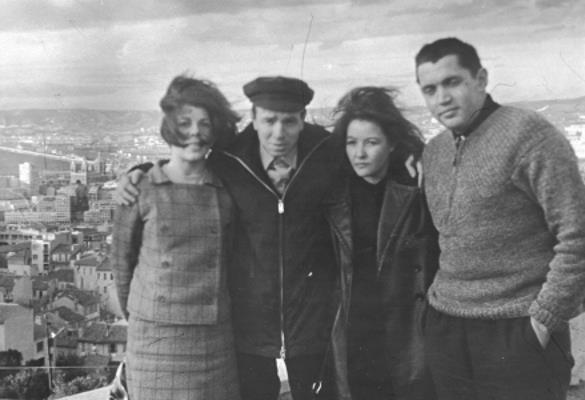 Римма Казакова, Андрей Вознесенский, Белла Ахмадулина, Роберт Рождественский. 1960-е