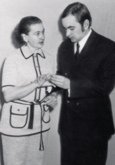 Людмила Лядова и ее четвертый супруг Александр, с которым она обретет счастье