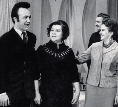 Людмила Лядова с Иосифом Кобзоном и Клавдией Шульженко