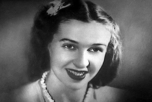 Людмила Лядова в молодости