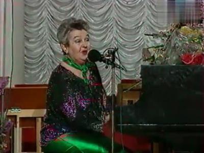Композитор и певица Людмила Лядова