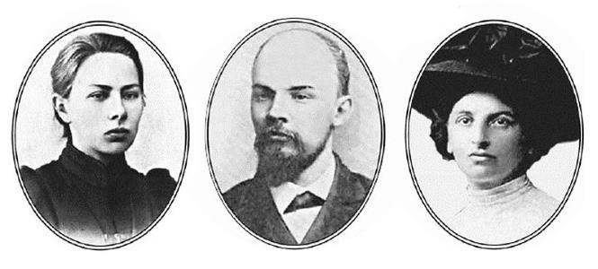 Крупская, Ленин и Арманд
