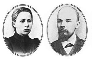 Ленин, Крупская, Арманд - Сердца трех
