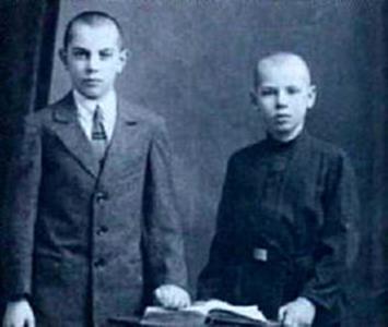 Георгий Жженов с братом Борисом