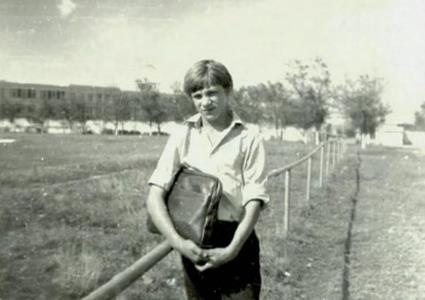 Андрей Разин в юности