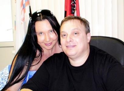 Андрей Разин и Наталья Грозовская