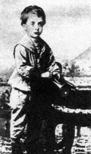 Миша Тухачевский в детстве