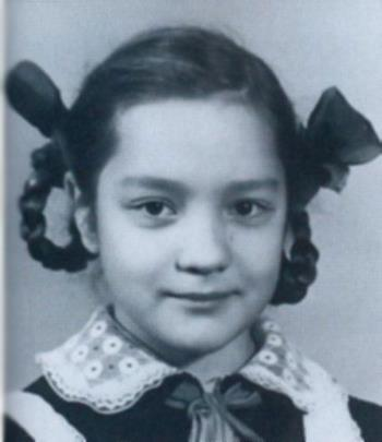 Таня Буланова в детстве