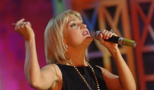 Татьяна Буланова на сцене